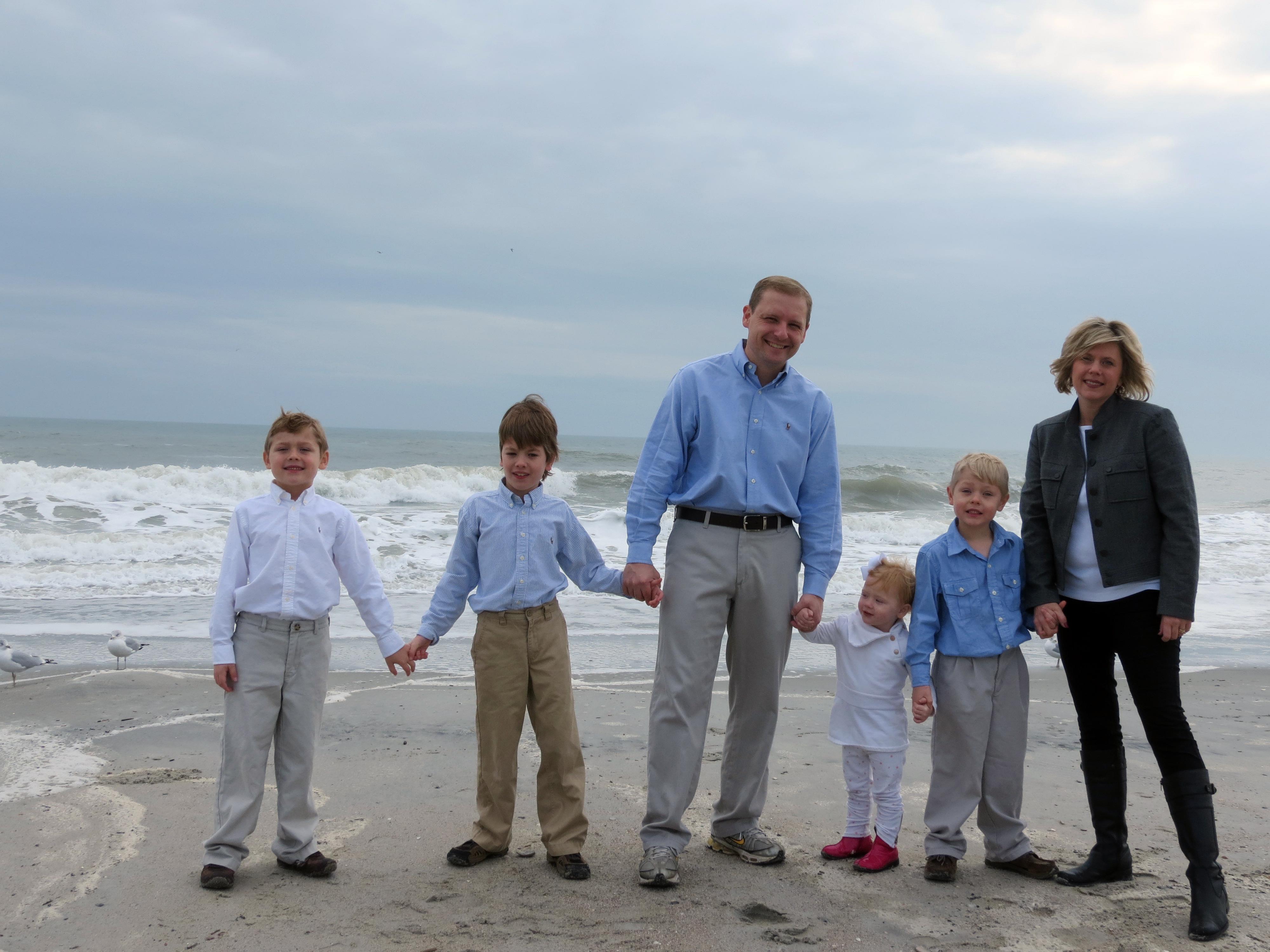 Landon with his familiy