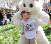 Good times with the Easter Bunny